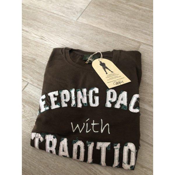 T-shirt donkerbruin