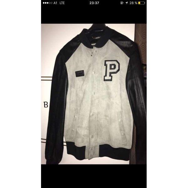 Philipp Plein Moda argento-nero Pelle
