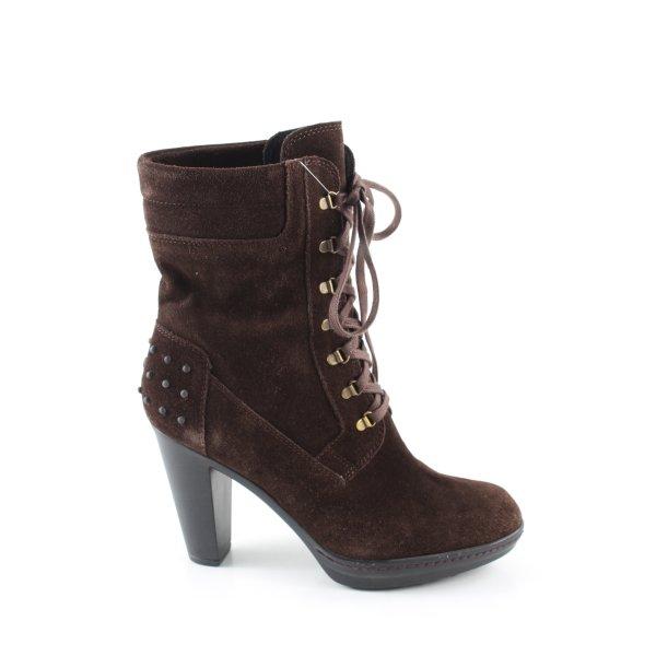 Phillip Hardy Paris High Heel Stiefel braun Casual-Look