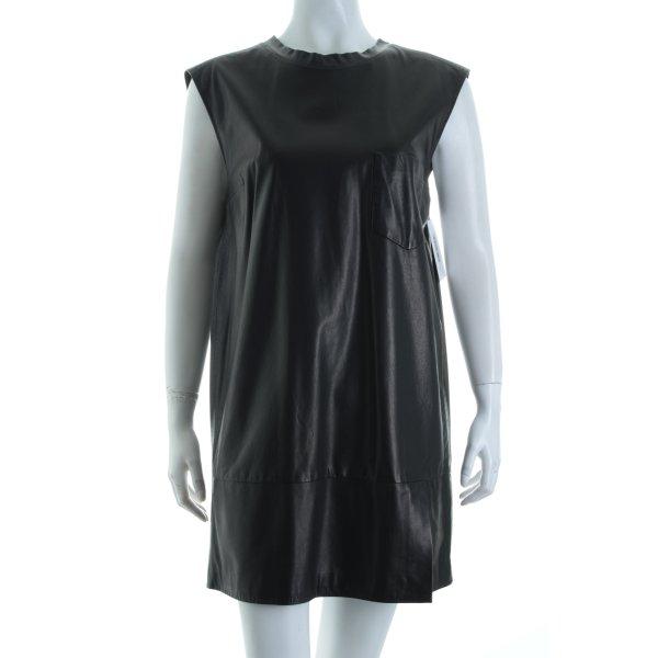 Phillip Lim Lederkleid schwarz Eleganz-Look