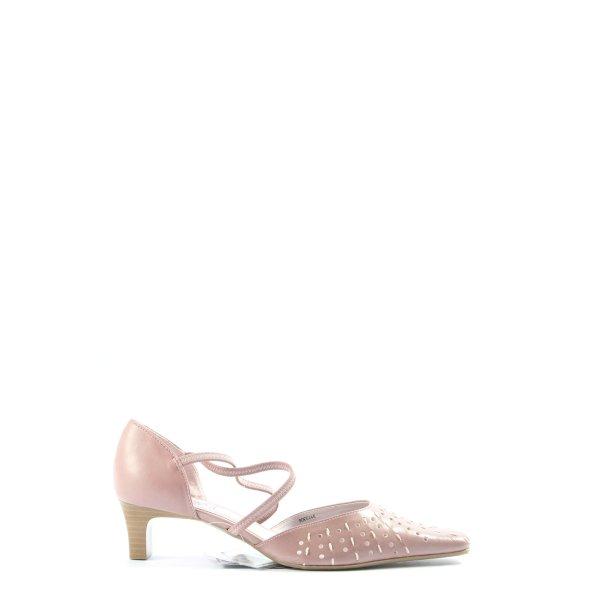 Pia Corsini Riemchen-Sandaletten pink Casual-Look
