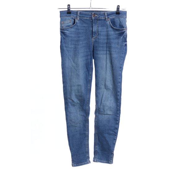 Pieces Jeans slim bleu style décontracté
