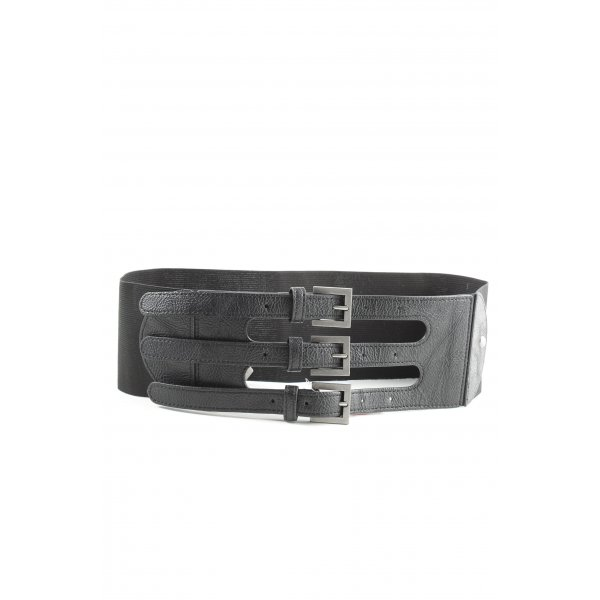 Pieces Taillengürtel schwarz Elegant