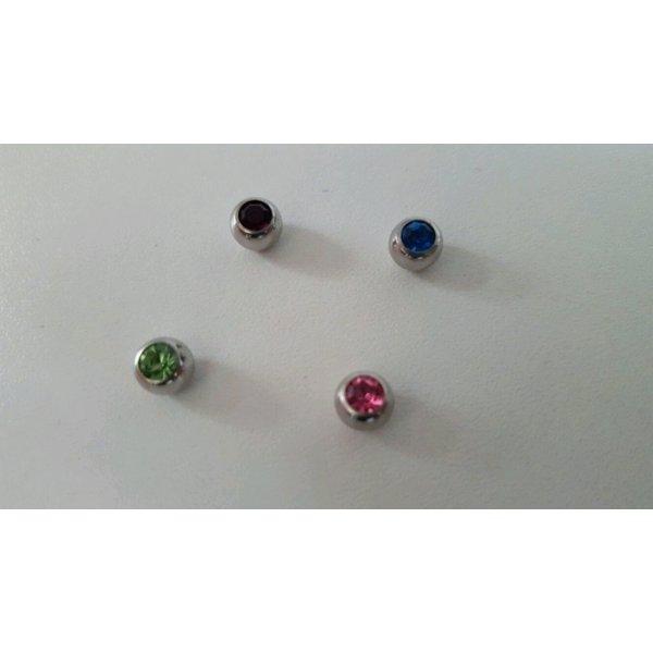 Claires Button multicolored