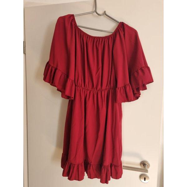 Pinke Kleid