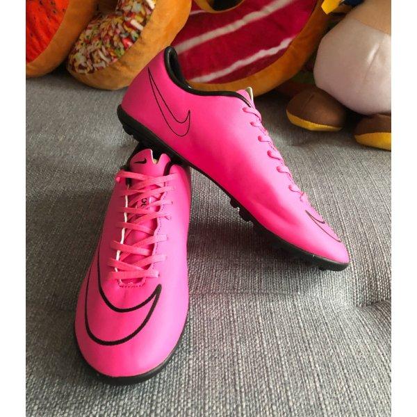 Pinke Nike Fußball Schuhe Mercurial Vapor Superfly 39