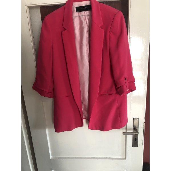 Pinker Longblazer Zara