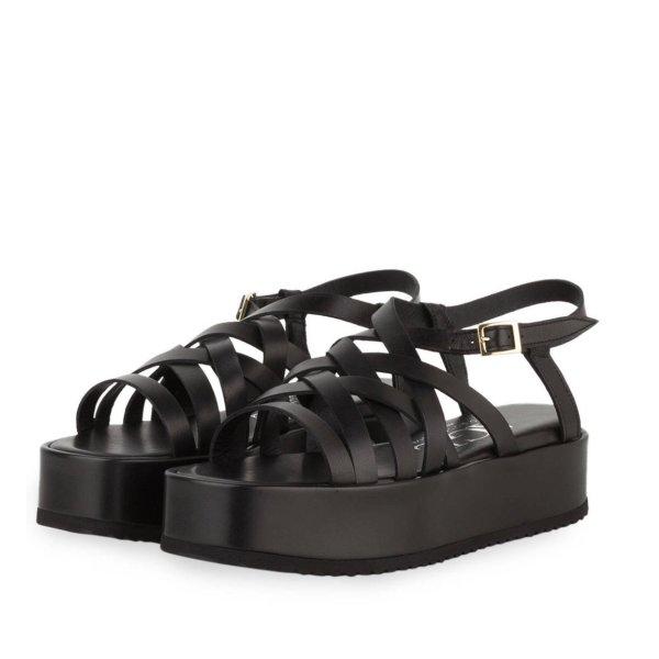 Plateau Sandalen einmal getragen