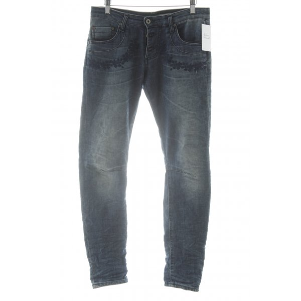 Please 7/8 Jeans blau Casual-Look