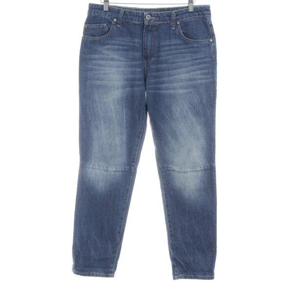 Please Boyfriendjeans blau Casual-Look