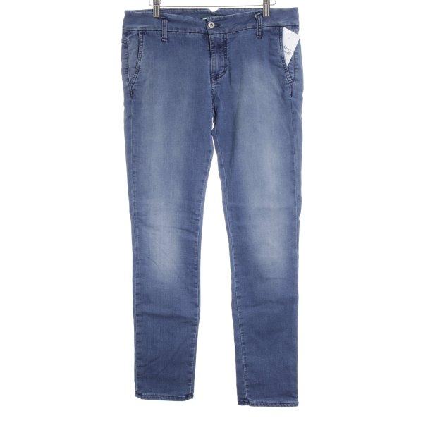 Please Stretch Jeans stahlblau Casual-Look