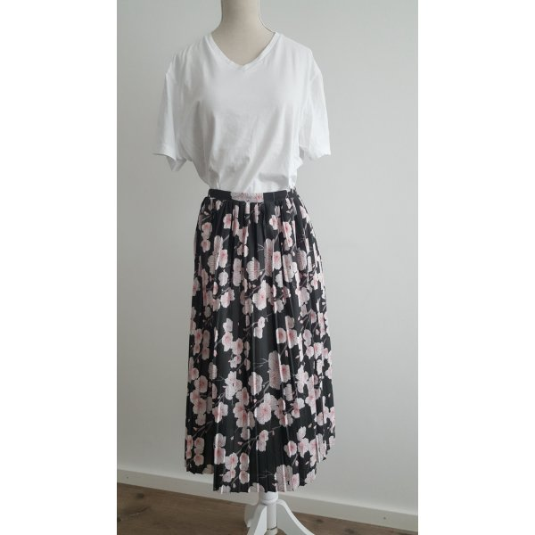 Mint&berry Pleated Skirt multicolored polyester