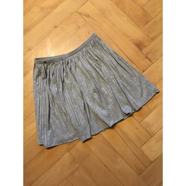 edc by Esprit Pleated Skirt light grey