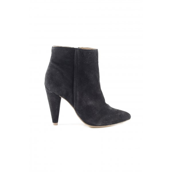 Poelman Ankle Boots schwarz Business-Look