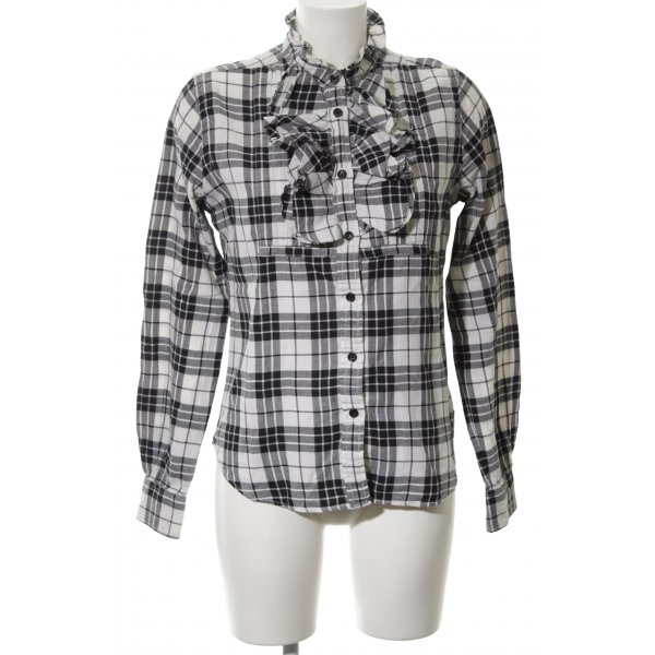 Polo Jeans Company Karobluse Karomuster Casual-Look