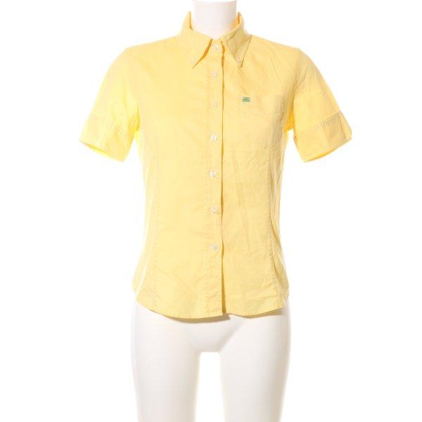 Polo Jeans Company Kurzarmhemd blassgelb Casual-Look