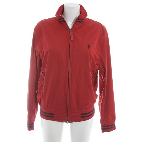 Polo Ralph Lauren Blouson aviateur rouge-bleu foncé style mode des rues