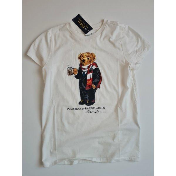 Polo Ralph Lauren T-shirt biały-w kolorze białej wełny