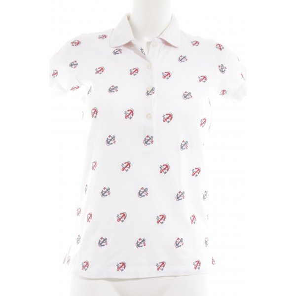 Polo Ralph Lauren Polo-Shirt Monogram-Muster Segel-Look