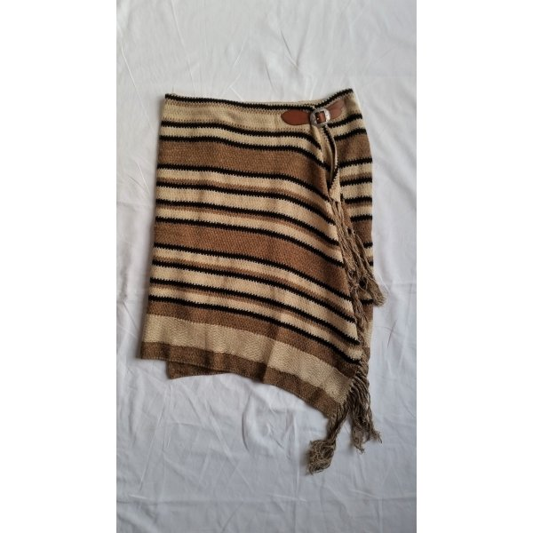 Polo Ralph Lauren, Silk-Cotton Blend Fringed Skirt, L, neu, € 400,-