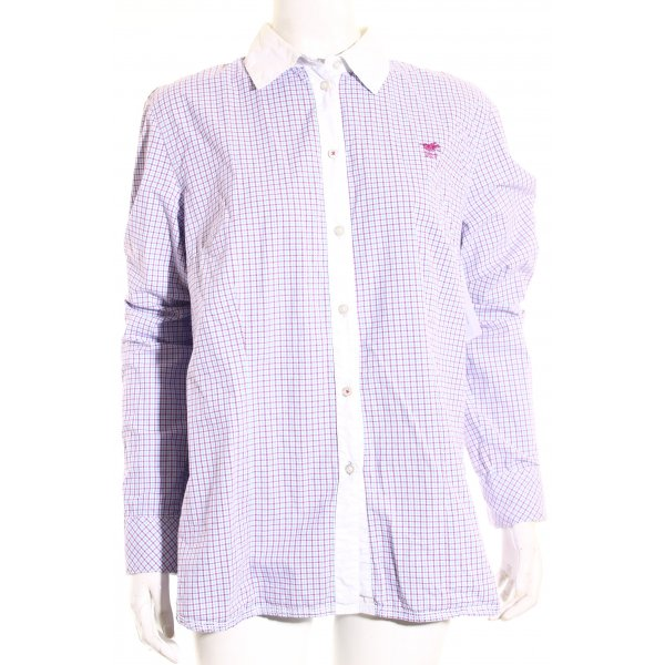 Polo sylt Hemd-Bluse Karomuster Casual-Look