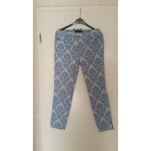 Pompöös by Harald Glöckler Drainpipe Trousers light blue