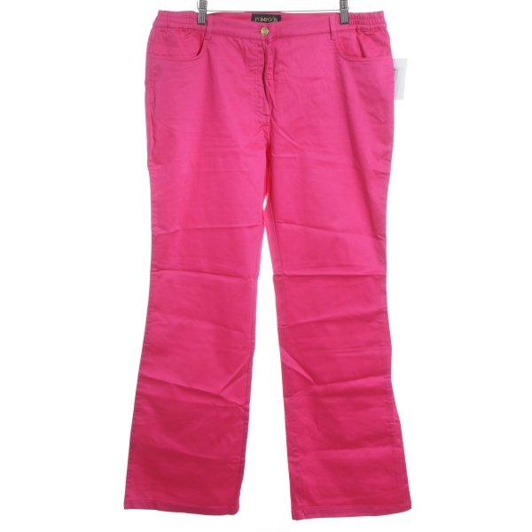 Pompöös Straight-Leg Jeans magenta Casual-Look