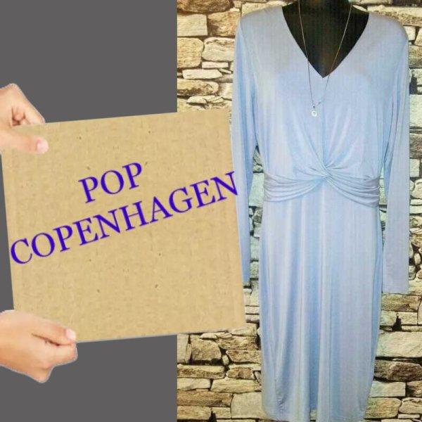 pop Copenhagen Abito a maniche lunghe multicolore Tessuto misto