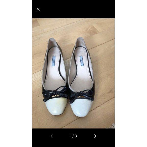 Prada Ballerinas, Gr. 38,5