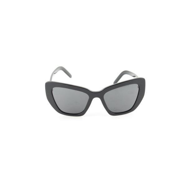 Prada Butterfly Brille schwarz Casual-Look