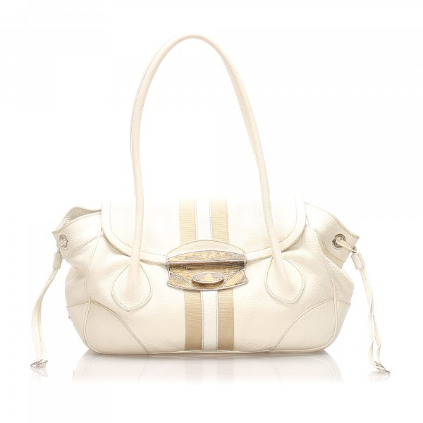Prada Calf Leather Shoulder Bag