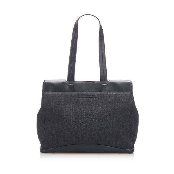 Prada Canvas Shoulder Bag