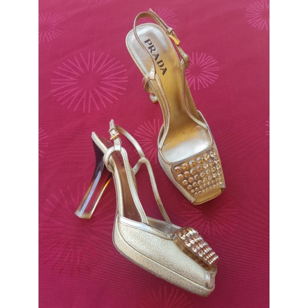 PRADA High Heel Sandaletten Gr.36