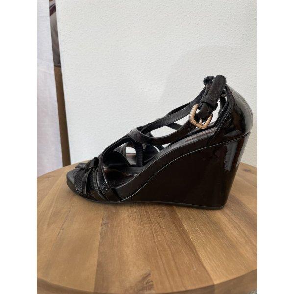 Prada Lackleder Sandale