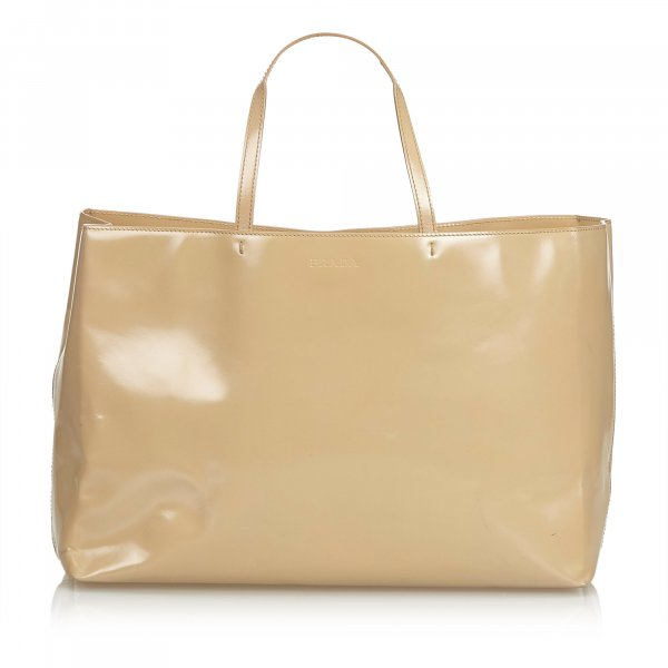 Prada Leather Tote Bag