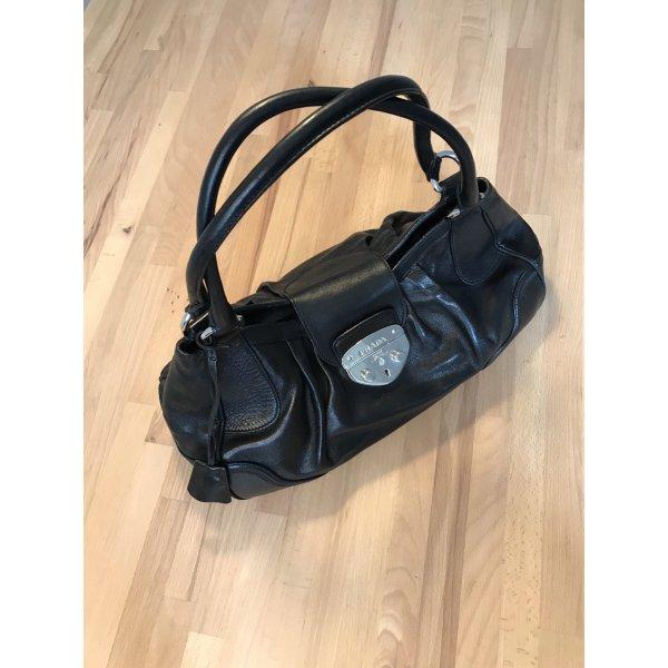 Prada LederHandtasche schwarz