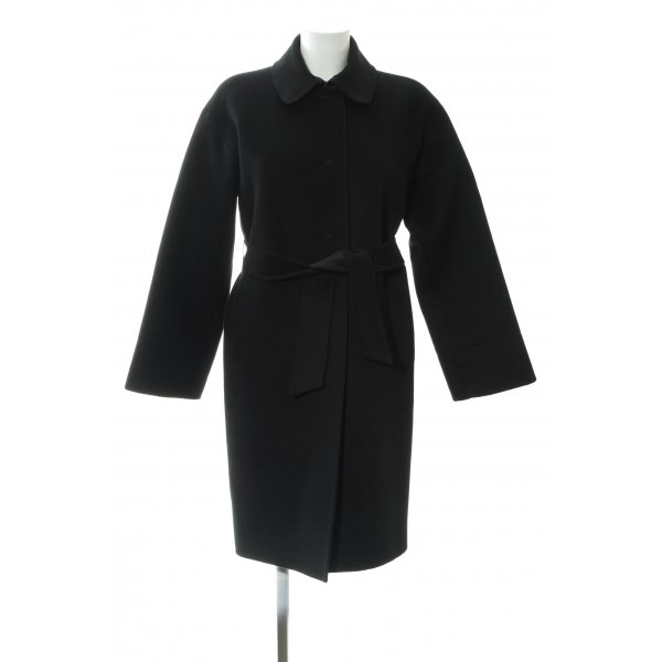 Prada Oversized Mantel schwarz Elegant