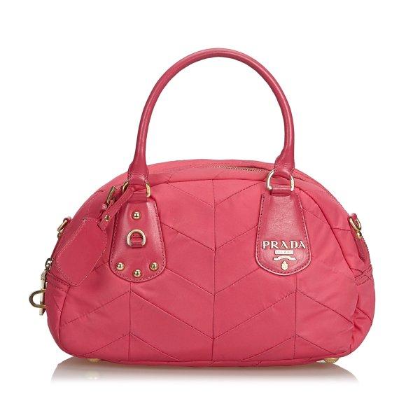Prada Quilted Nylon Handbag