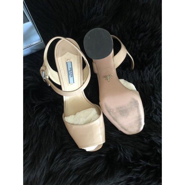Prada Sandale nude Größe 39,5