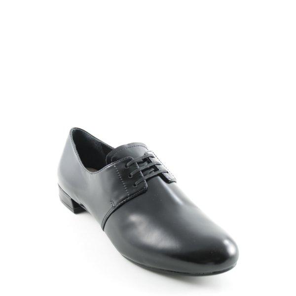 Prada Schnürschuhe schwarz