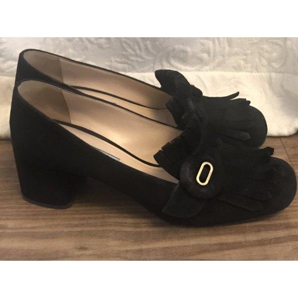 Prada Schuhe schwarz Hr 38,5