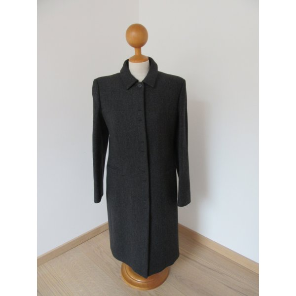 Prada Cappotto in lana antracite Lana vergine