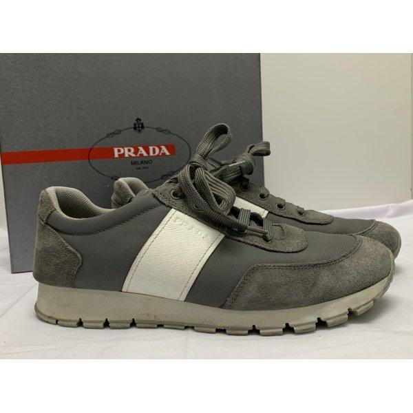 Prada Sneaker (Calzature Donna Scamosciato + NY Ghiaia)