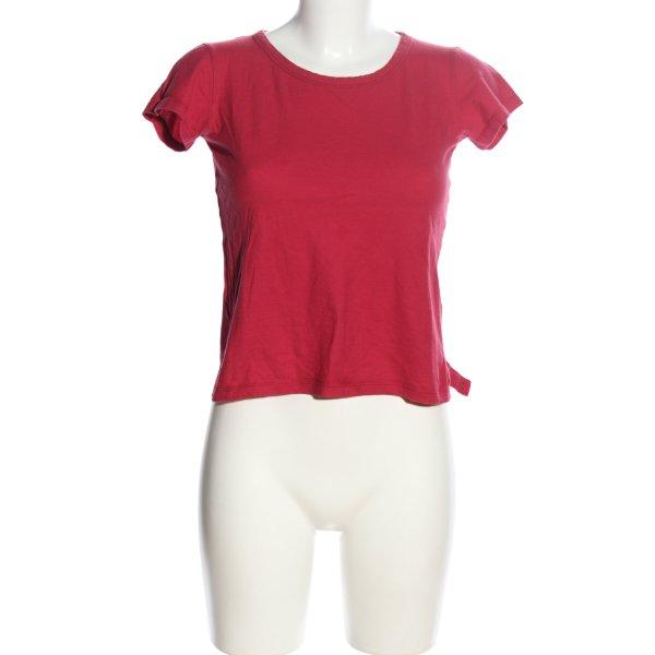 Prada T-Shirt rot Casual-Look