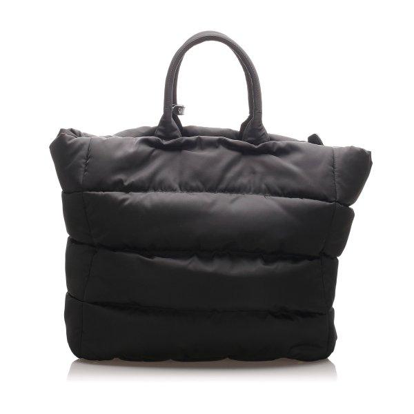 Prada Tessuto Bomber Tote Bag