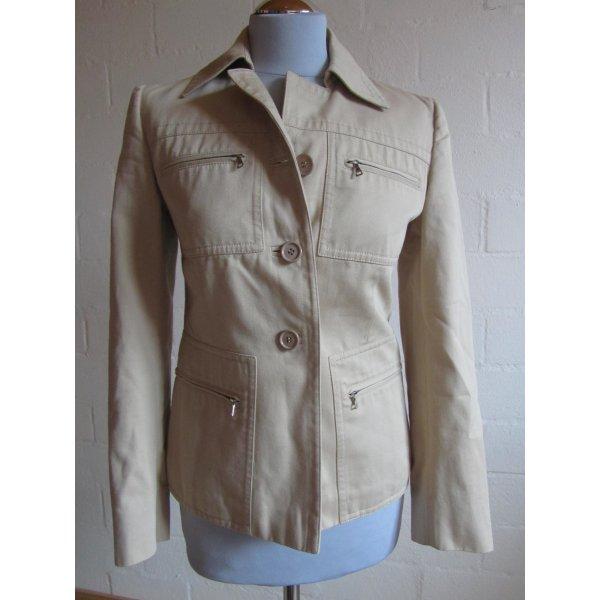 PRADA: Vintage-Jacke, beige, Gr. 40/36