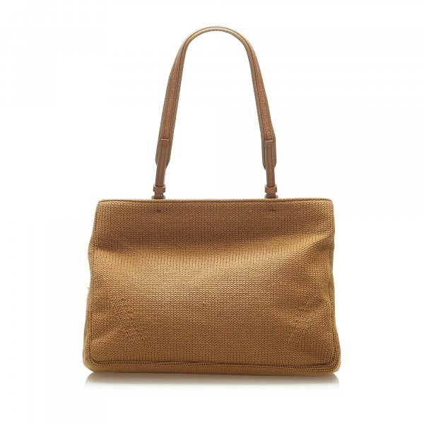 Prada Wool Tote Bag