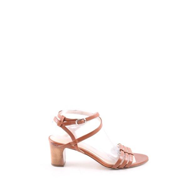 Prego Riemchen-Sandaletten braun Casual-Look