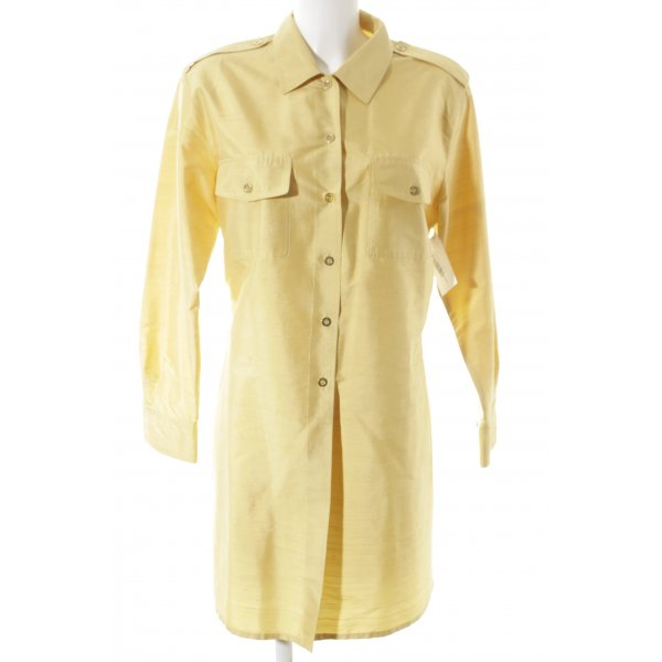 Prestige Elegance Hemd-Bluse dunkelgelb Business-Look