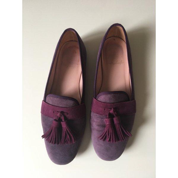 Pretty Loafers, Wildleder, Größe 36,5